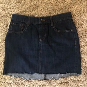 Jean skirt size 4 (small)